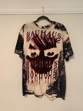 Vintage bauhaus mosquitohead t-shirt size xl