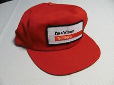 I'm a Winner BEATRICE Red Baseball Hat Clean Trucker Farmer Cap Patch Gift USA
