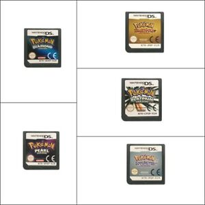 Pokemon: Platinum Soul Silver Heart Gold DS game card EUR version