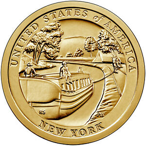 2021-P&D American Innovation $1 Coin -New York