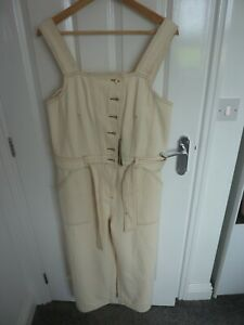 MARKS & SPENCERS DUNGAREES - BRAND NEW ( £55) - SIZE 14 - SUPER LOOK!