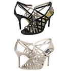 Michael Kors Womens Jessie Ankle Strap Open Toe Dress Sandals Fashion Heels