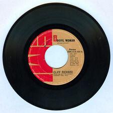 Philippines CLIFF RICHARD Devil Woman 45 rpm Record