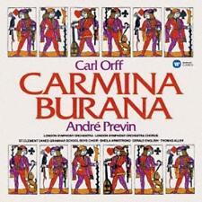 ANDRE PREVIN-CARL ORFF: CARMINA BURANA-JAPAN CD G88