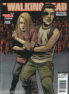 The Walking Dead Official Magazine #15 - Walker Stalker London Show Cover C