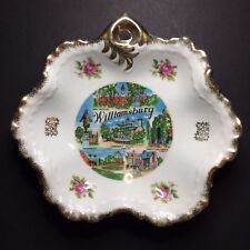 Vintage Williamsburg Virginia Decorative Collectible Souvenir Dish 7 1/8""