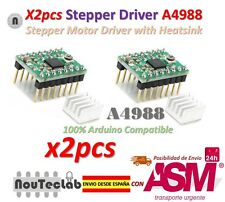 2pcs Reprap Stepper Driver A4988 Stepper Motor Driver Module with Heatsink