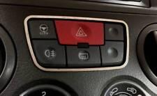 D Fiat Panda 169 Chrom Rahmen für den Schalter Warnblinker - Edelstahl poliert