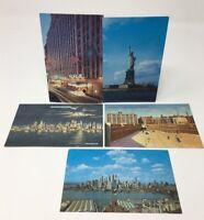 VINTAGE POSTCARDS New York City NYC Howard Johnson Hotel Edison Lot/5 (17-6920)