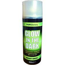 x1 400ml Glow In The Dark Luminous Bright Green Aerosol Spray Paint