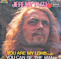 """++JEREMY FAITH you are my lord """"j""""/you can be the man SP 1971 DECCA VG++"""