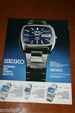 AT24=1972=SEIKO OROLOGIO WATCH=PUBBLICITA'=ADVERTISING=WERBUNG=