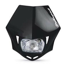 POLISPORT MMX Headlight Enduro Road Legal BLACK Headlamp