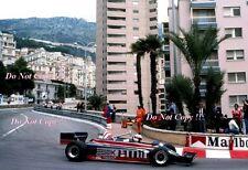 Elio De Angelis Team Essex Lotus 87 Monaco Grand Prix 1981 Photograph 2