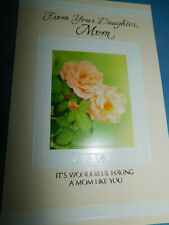 New Mother's Day Greeting Card from DAUGHTER