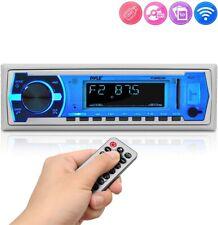 Boat Pyle Bluetooth Marine Stereo Receiver AM FM Radio System Wireless fast SHIP