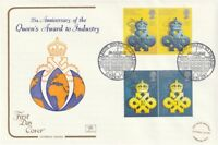10 APRIL 1990 QUEENS AWARD TO INDUSTRY COTSWOLD FIRST DAY COVER LONDON SW1 SHS
