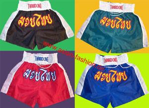 NEU + Muay Thai Shorts thaiboxen Kampfsport  kickboxen MMA twins muaitai Hose