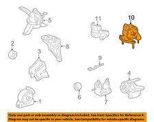 genuine oem right motor mounts for toyota corolla for sale ebay