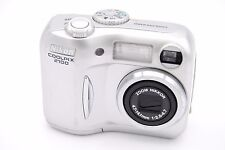 NIKON COOLPIX 2100 COMPACT DIGITAL CAMERA SILVER - BROKEN SOLD AS IS