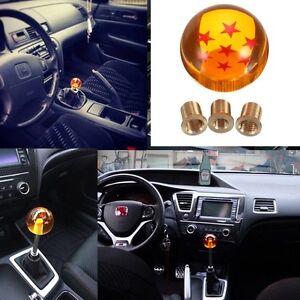 54mm Manual Gear Shift Knob M12x1.25 7 Star Dragon Ball For Honda,Toyota,Nissan