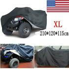 XL Black ATV Cover Waterproof For Can-Am Outlander 450 500 570 650 800 800R 850