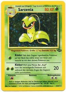 Pokemon Sarzenia Victreebel Holo 14/64 Jungle Dschunge Set DE NM TCG#71 PP&FAST