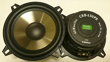 "1 Paar 13cm  Monacor Carpower CRB-130PS 130mm DIN Bass Subwoofer 5"" NEU"