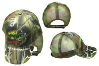 To Fish or Not Fish What A Stupid Question Camo Mesh Embroidered Cap CAP928A Hat