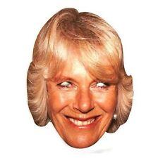 Camilla Parker Bowles Celebrity Cardboard Mask - Pack of 10