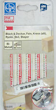 5pz lame seghetto alternativo lux professional Black&Decker Ryobi, Skil 113275