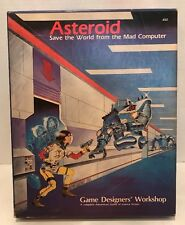 ASTEROID: Save the World from the Mad Computer Board Game 652 GDW 1983 Unpunched