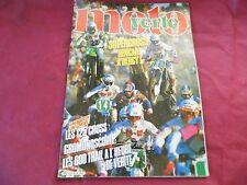 REVUE MOTO VERTE D'OCCASION DE DECEMBRE 86 / SUPERCROSS A BERCY LES 125 CROSS