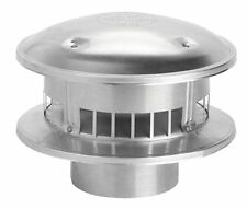"""Selkirk 103800 Type """"B"""" Gas Vent 3-Inch Round Top rain cap Stove Venting vent"""