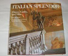 Italian Splendor : Palaces, Castles and Villas by Jack Basehart 1990 Large HC/DJ
