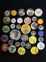 Lot Of Mixed Pinback Buttons - Sports, USA