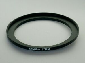 STEP UP ADAPTER 67MM-77MM STEPPING RING 67MM TO 77MM 67-77 FILTER ADAPTOR