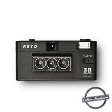 RETO 3D Classic - 3D Camera - Alternative to Nishika n8000 and Nimslo 3D