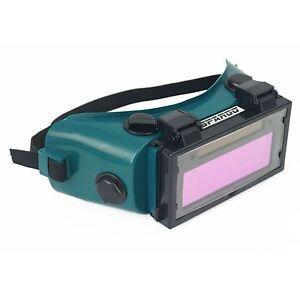 Spargo Auto Darkening Welding Gas Flip Up Lens Goggles Eye Protection DIN 8-12