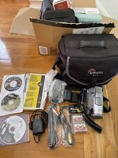 Jvc Gr-D90U Digital Video Camera Mini Dv w/ Charger, Battery, Wires, Bag A+