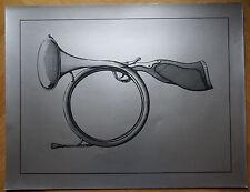 """JACQUES CARELMAN (1929/2012) - Sérigraphie - """" FUSIL COR DE CHASSE   """"- Signé"""