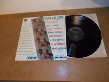 LP VINYL - HANK BALLARD - GLAD SONGS SAD SONGS  - KING 927 - BLACK LABEL USA