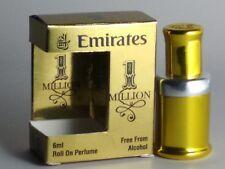 1 MILLION Attar Alcohol free 6 ml bottle Roll on Bottle Natural Perfume