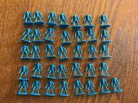 One Star Wars Clone Wars Risk 2005 Hasbro Blue Troop Game Piece