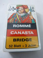 jeu de cartes CANASTE , RPMME , BRIDGE (cpnb1)