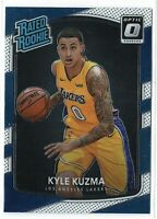 KYLE KUZMA #174 2017-18 Panini Donruss Optic RATED ROOKIE RC LAKERS