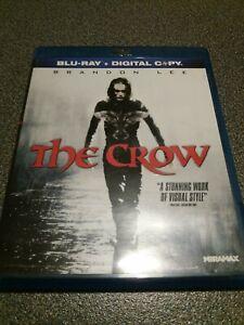 The Crow Blu Ray Region 1 Horror Thriller 1994Brandon Lee