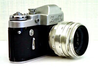 Vintage Cameras Lens Helios-44 USSR For Macro Shooting Carl Zeiss Jena Helios