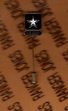 US Army Hat Lapel Tie clasp lapel pin badge