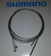 2 x SHIMANO MOUNTAIN BIKE CYCLE BRAKE CABLE INNER WIRE REAR BARREL END BICYCLE